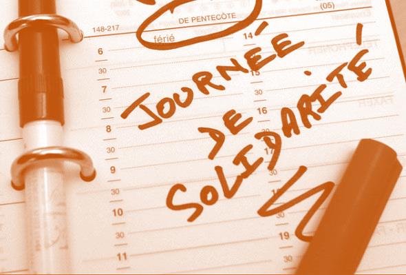 Activité partielle,  lundi de Pentecôte et journée de solidarité